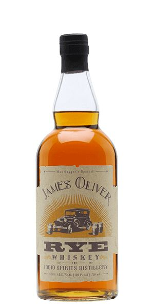 James Oliver Rye Whiskey is named after Robert's grandfather—James Oliver Turner—and the bottle bears a story about his life. That's kind of cool, right?