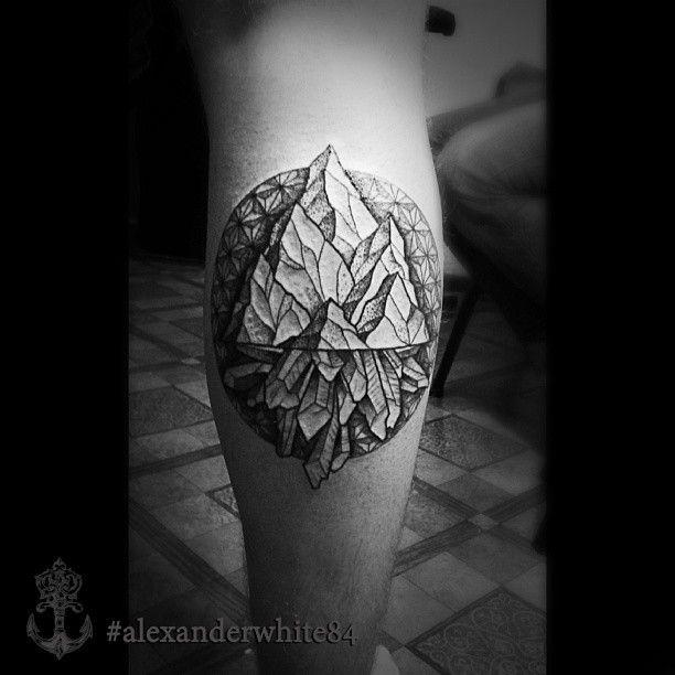 #dotworktattoo#tattoominsk#tattoo#mountaintattoo#crystaltattoo#mountain#crystal#dotwork#