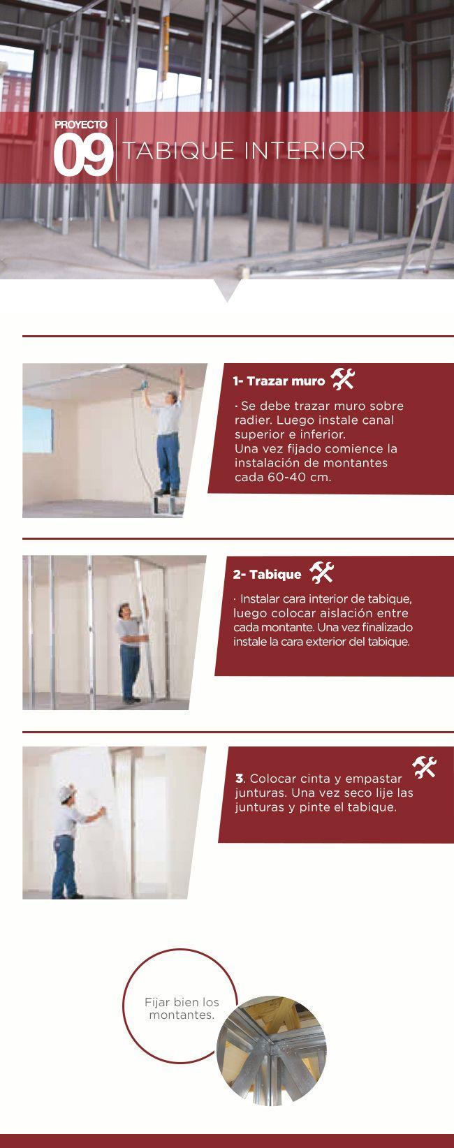 #Tabique #Terminaciones #Consejos #Proyectos #Easy