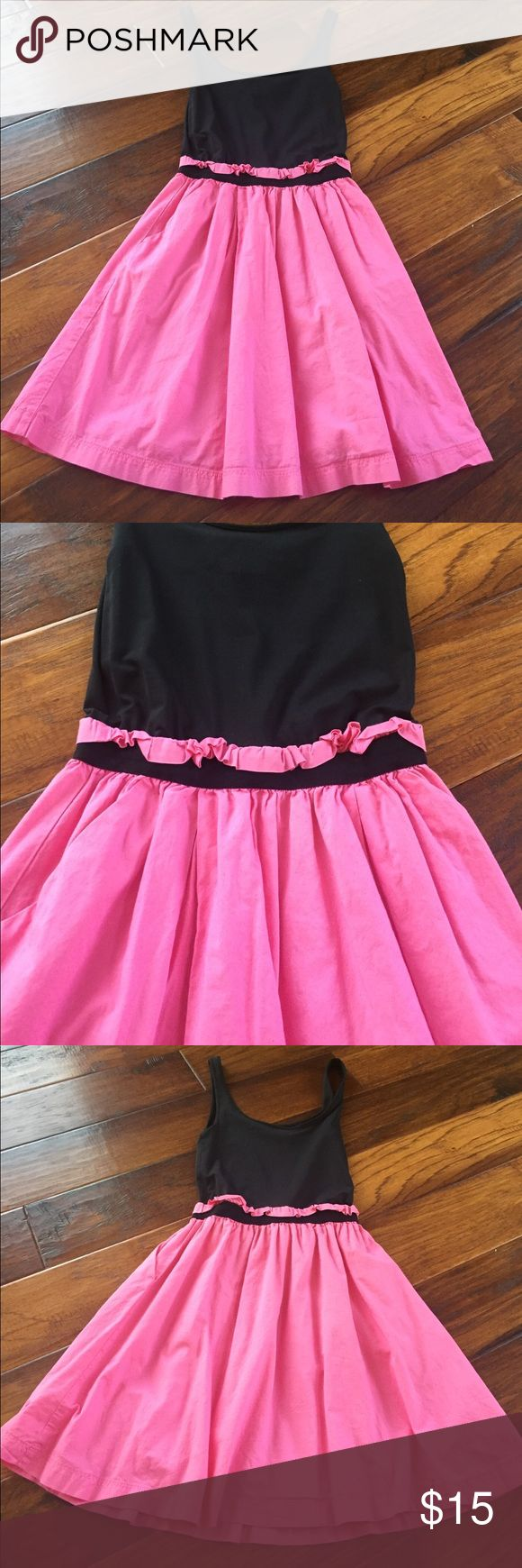 30% Off Bundles! PINK Victoria Secret Dress 👗 Size XS PINK Victoria Secret Dress. Pink on the bottom and black on the top. Fitted at the waist. In excellent condition👗💋🎀 PINK Victoria's Secret Dresses