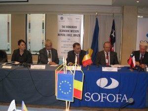 Romanian Economic Mission in Peru, Chile & Brasil 2012