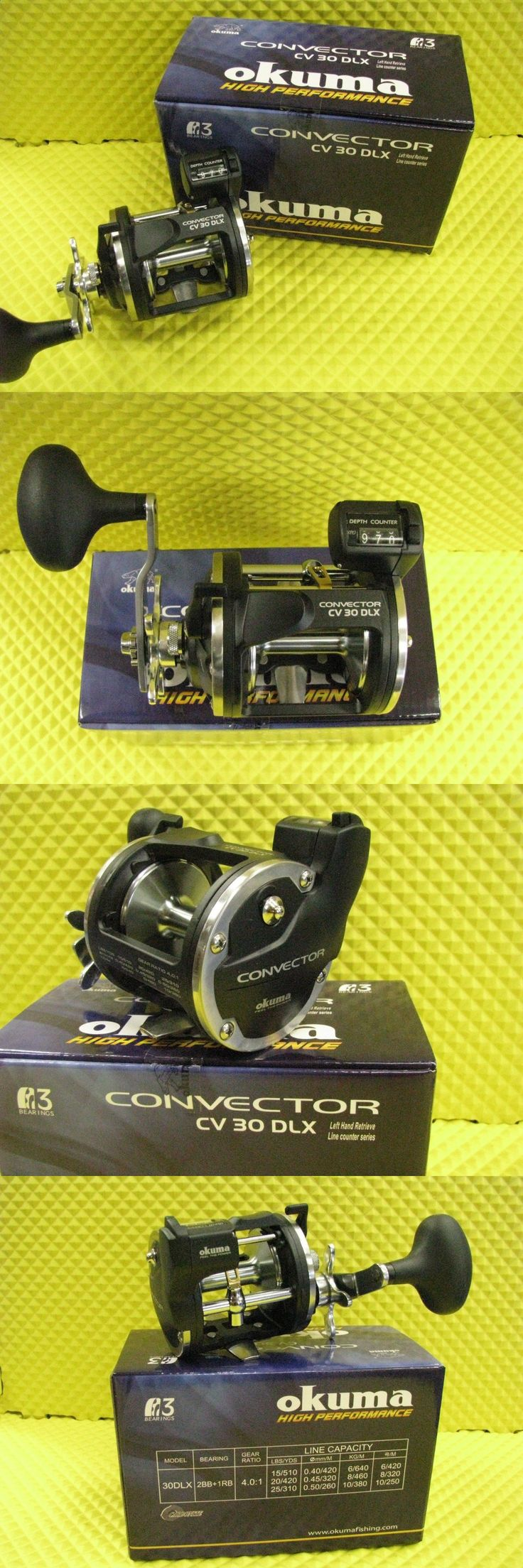 Other Fishing Reels 166159: Okuma Convector Cv 30Dlx Left Hand Retrieve Line Counter Trolling Reel -> BUY IT NOW ONLY: $78 on eBay!