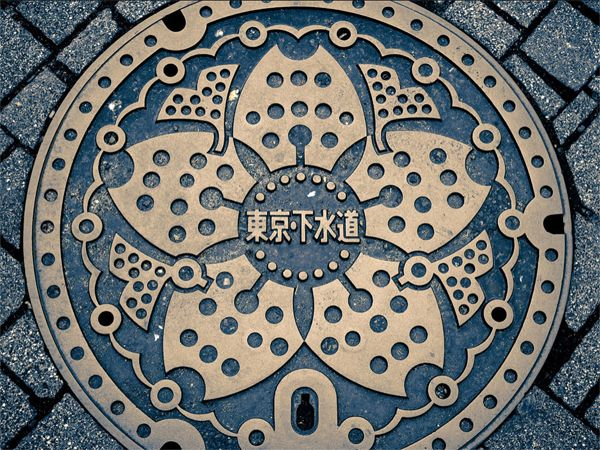 Best decorative manhole covers images on pinterest