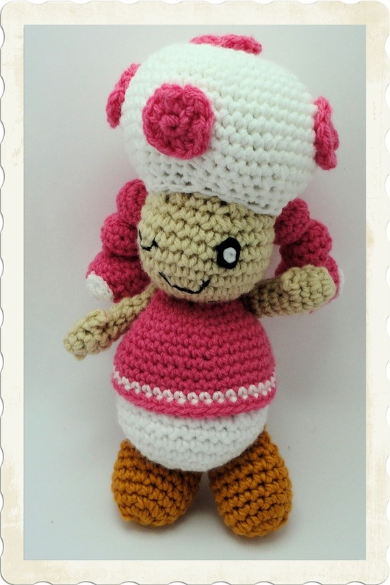 Mario Brothers Toadette, so cute