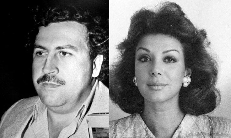 Pablo Escobar (izq) y Virginia Vallejo (der) se volvieron amantes, mientras ella era esposa del cineasta Argentino David Stivel, ella se quejaba de que su marido no quería darle el divorcio. Pablo le prometió a Virginia que iba a ser una mujer soltera en 48 horas. Efectivamente a los dos días, ella tuvo el consentimiento de divorcio firmado de su ex-esposo, después de una golpiza monumental que le dieron a él, los matones de escobar.