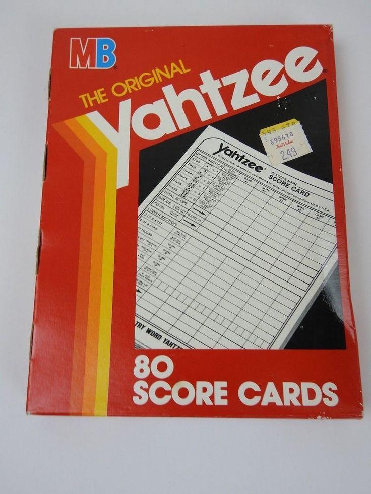 The  Best Yahtzee Score Sheets Ideas On   Yahtzee