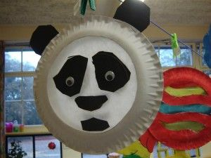 Panda Toilet Roll Craft