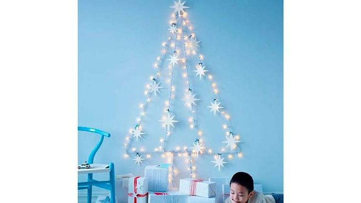 Sapin de Noël guirlande lumineuses