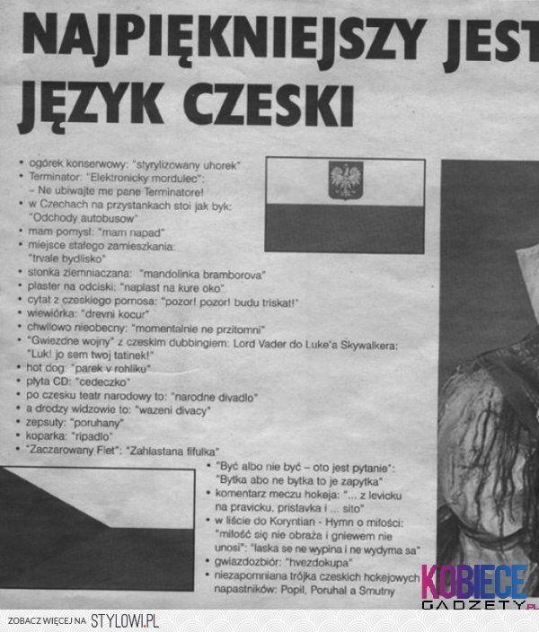 czeski smieszne z netu na Stylowi.pl