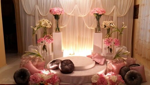 Wedding dais. Perfect for engagement or solemnization.