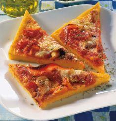 Pizza di polenta - Tutte le ricette dalla A alla Z - Cucina Naturale - Ricette, Menu, Diete