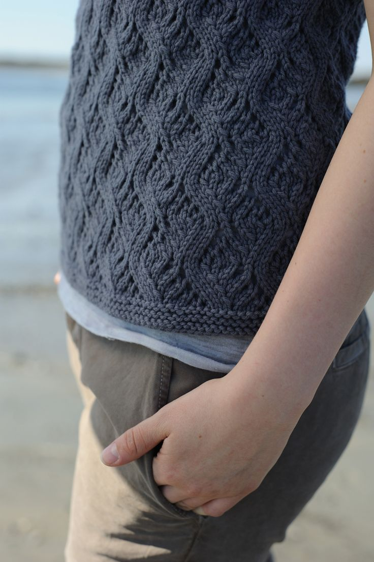 castel pullover by quince and co.