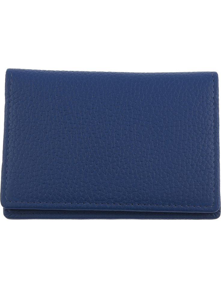 DENTS RFID protection leather card holder