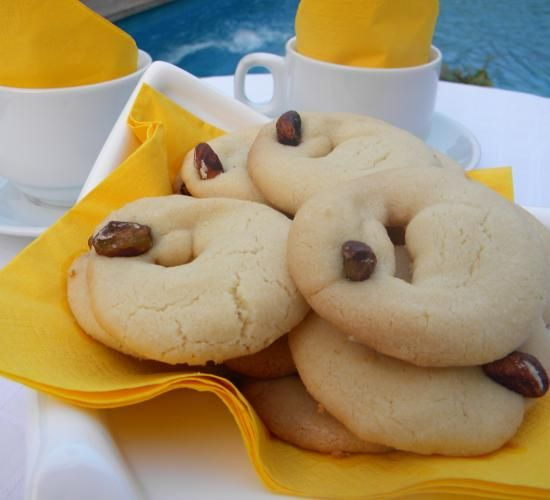 Ghraybeh.... a shortbread that has a smooth texture and shaped into wreath-like shape | Hadia's Lebanese Cuisine