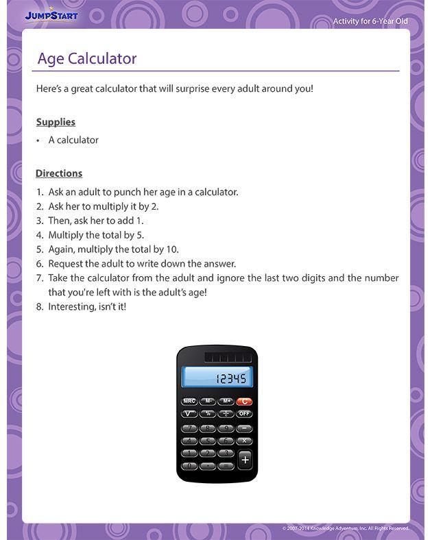 Best 25+ Age calculator ideas on Pinterest Year calculator - 401k calculator