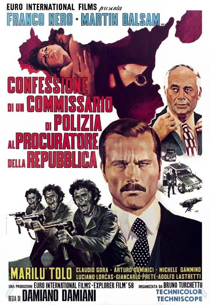 Confessione di un commissario di polizia al procuratore della Repubblica (1971)