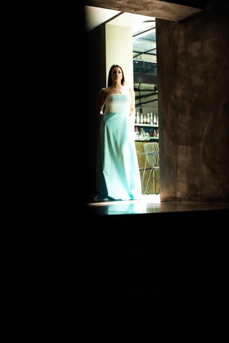 Fashion maxi evening gown