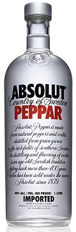 Absolut Vodka...Peppar | Hampton Roads Happy Hour
