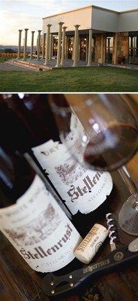 Stellenrust Wine Estate, Stellenbosh - Great wine and beautiful wedding venue!