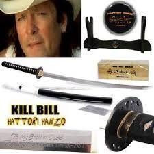 Hattori Hanzo Bud's Katana Kill Bill