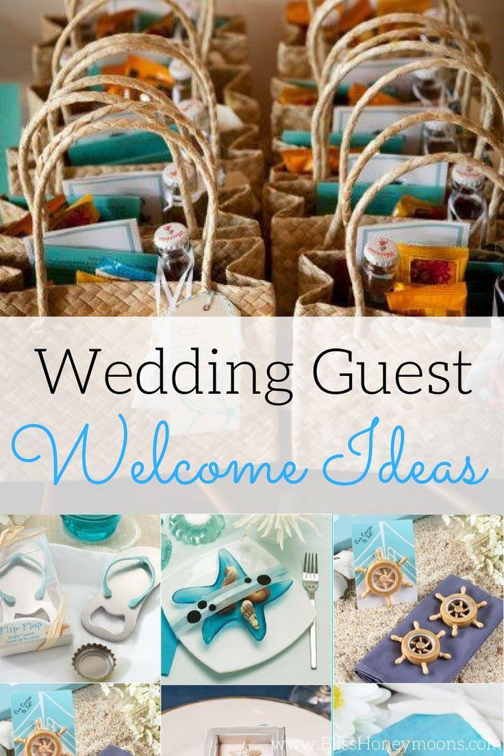 ideas for beach wedding party favors%0A Destination wedding favors