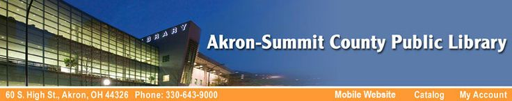 Akron-Summit County Public Library Events