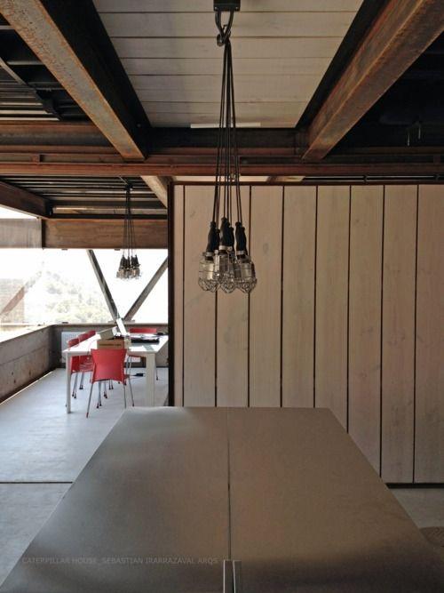 caterpillar house | interior ~ sebastian irarrazaval arqs