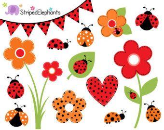 lady bug clipart lady bug clip art lady bugs clipart by LensBug