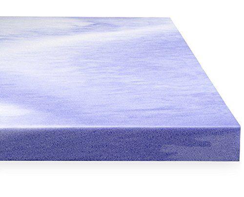 red nomad king size 2 inch thick u2013 ultra premium quick response memory foam purple mattress topper pad u2013 odorless u0026 made in usa