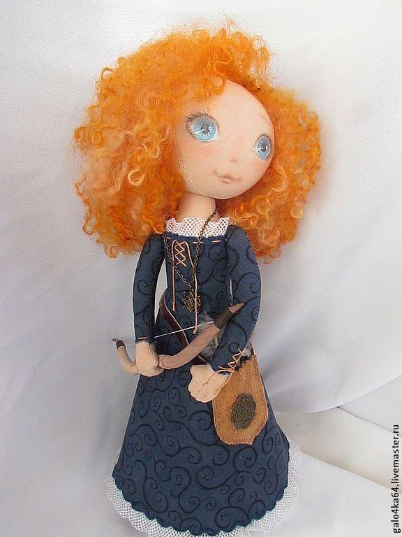 Купить Кукла МЕРИДА, принцесса, храбрая сердцем. - храбрая сердцем, принцесса мерида, герои мультфильмов