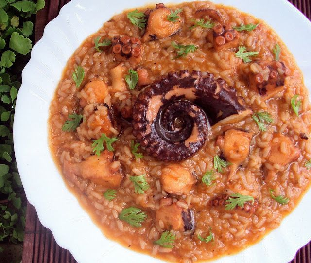 Today's recipe: Octopus Rice  Image