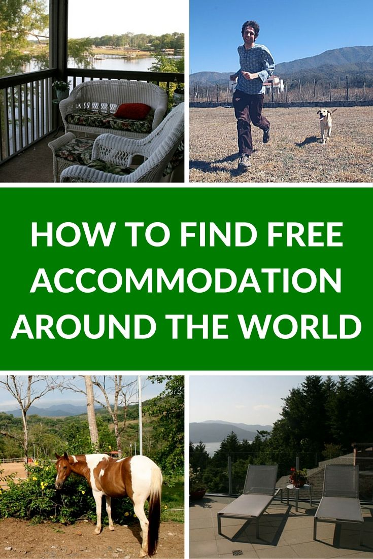 How to Find Free Accommodation Around the World | If you want to travel and think you can't afford it; if you are feeling burnt out and tired of constant sightseeing; or if you are just looking for a unique travel adventure, then we recommend trying these opportunities for free accommodation around the world. | The Planet D Adventure Travel Blog