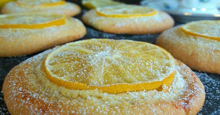 LİMON DİLİMLİ KURABİYE hem çok kolay hemde çok lezzetli kurabiye tarifi