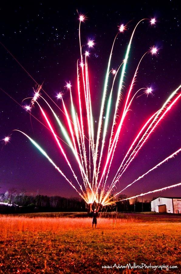 Fire, works!: Night Sky