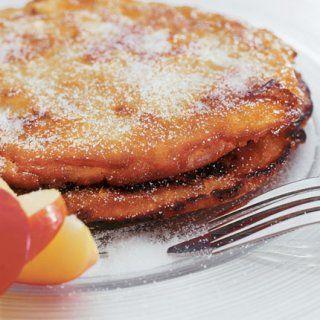 recette de crêpes aux pommes