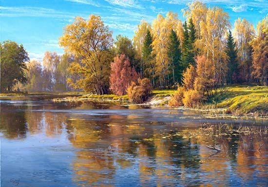 Вопрос 12. Нравятся картины русских художников с изображением природы. Шишкин, Айвазовский