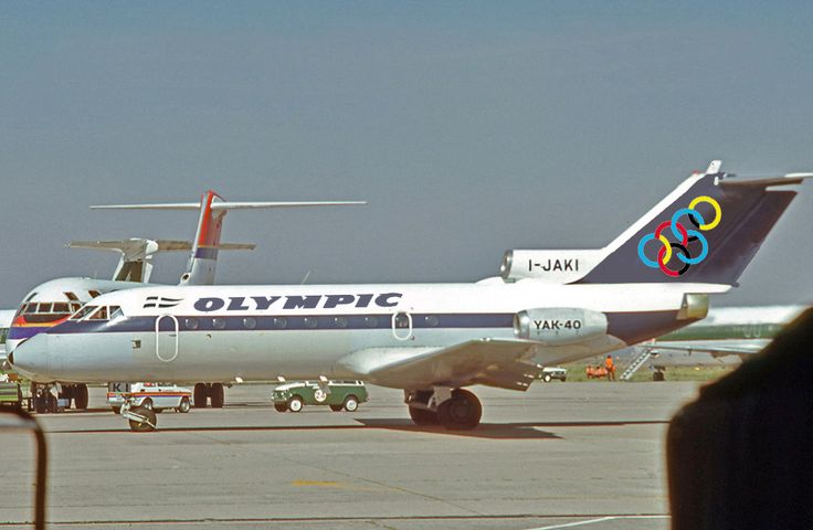 Olympic Airways Yakovlev Yak-40 [I-JAKI] G+D