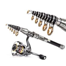 1.5M/1.8M Telescopic Fishing Rod Short Mini Fish Hand Carbon Fiber Pole Portable Sea Ocean Lake River Pond Fishing Wholesale  $US $11.91 & FREE Shipping //   http://fishinglobby.com/1-5m1-8m-telescopic-fishing-rod-short-mini-fish-hand-carbon-fiber-pole-portable-sea-ocean-lake-river-pond-fishing-wholesale/    #fishinf