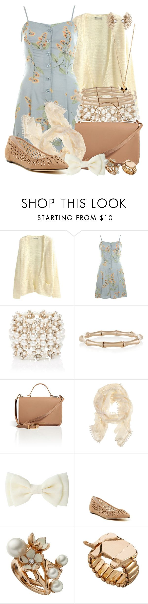 """Shadow at the Water's Edge"" by detectiveworkisalwaysinstyle ❤ liked on Polyvore featuring Miss Selfridge, Forever New, Gucci, Emilio Pucci, H&M, Calvin Klein, Shaun Leane, Jamie Jewellery, Aurélie Bidermann and Oscar de la Renta"