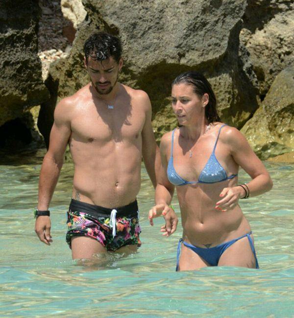 Flavia Pennetta and Fabio Fognini in Ibiza