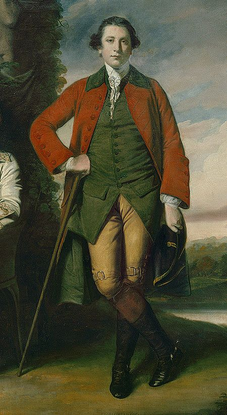 Detail from The Honorable Henry Fane (1739-1802) with His Guardians, Inigo Jones and Charles Blair, 1761-66, by Sir Joshua Reynolds | The Metropolitan Museum of Art