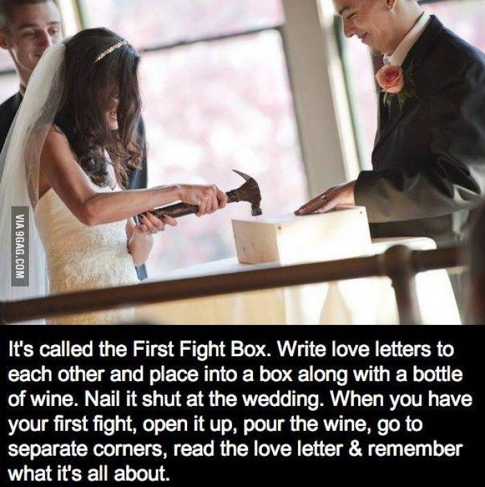 Leuk idee voor als je ceremonie meester bent! (via 9GAG)