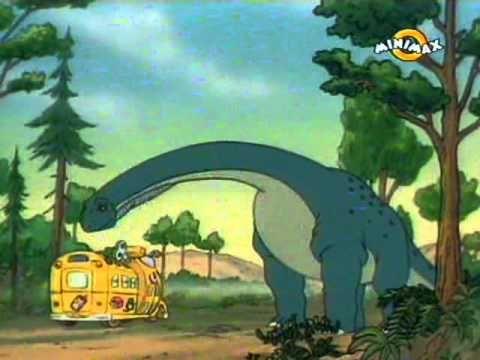 Kouzelný školní autobus - 17 Dinosaurus