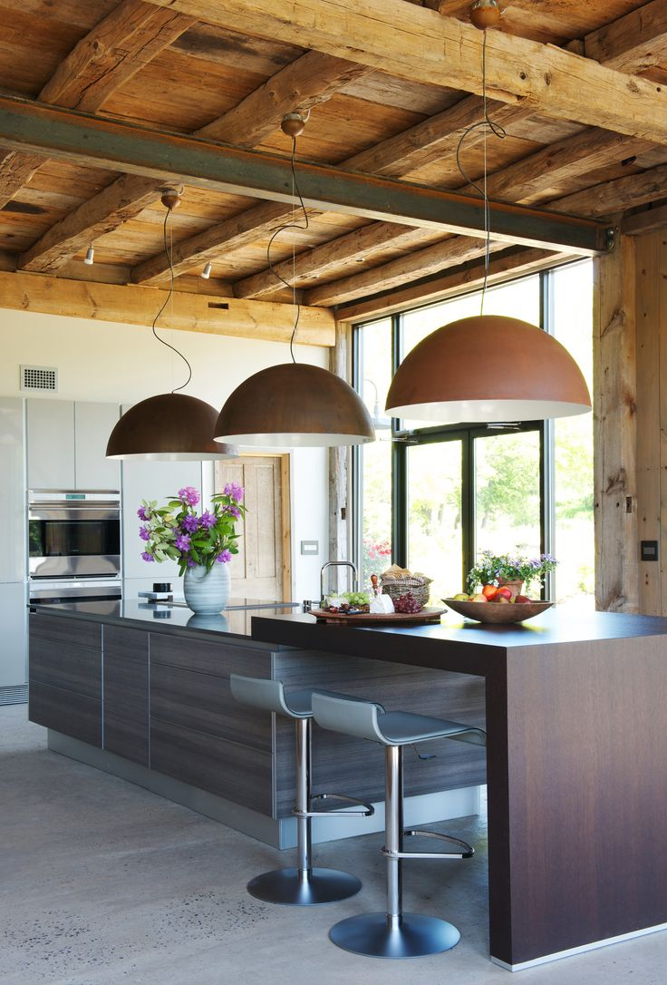 126 best images about cozy stylish homes on pinterest for Modern barn kitchen