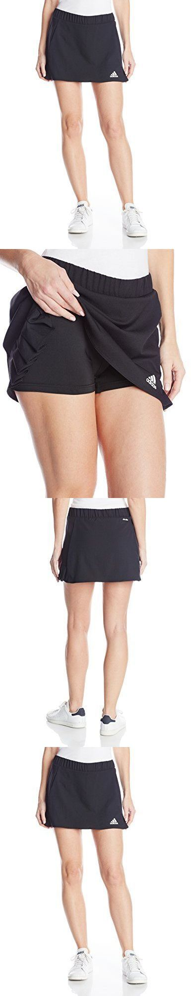 Other Racquet Sport Clothing 70903: Adidas Women S Tennis Skort Black Small Womens Tennis Apparel, New -> BUY IT NOW ONLY: $132 on eBay!