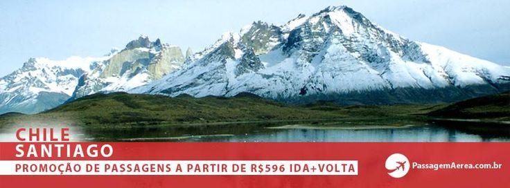 Promoção de Passagem Aerea para Santiago - Chile.  http://www.passagemaerea.com.br/promocao-santiago.html