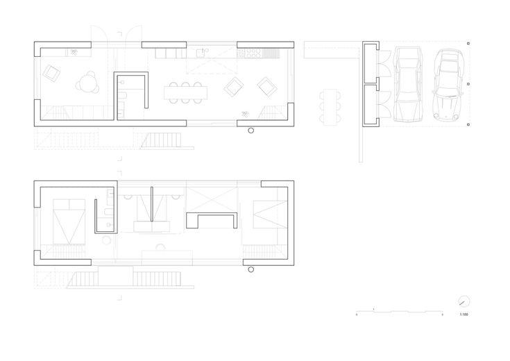 Villa Tussefaret,Plan