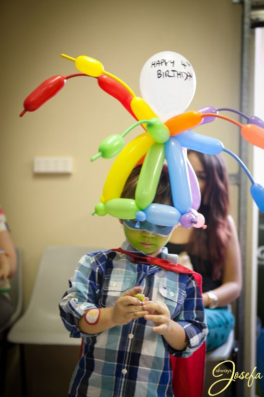 Birthday Balloon hat