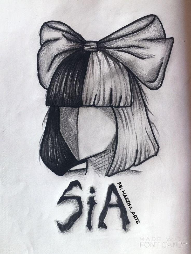 Chip thrills Sia | Sketch | Malerei, Gemälde, Zeichnung ...