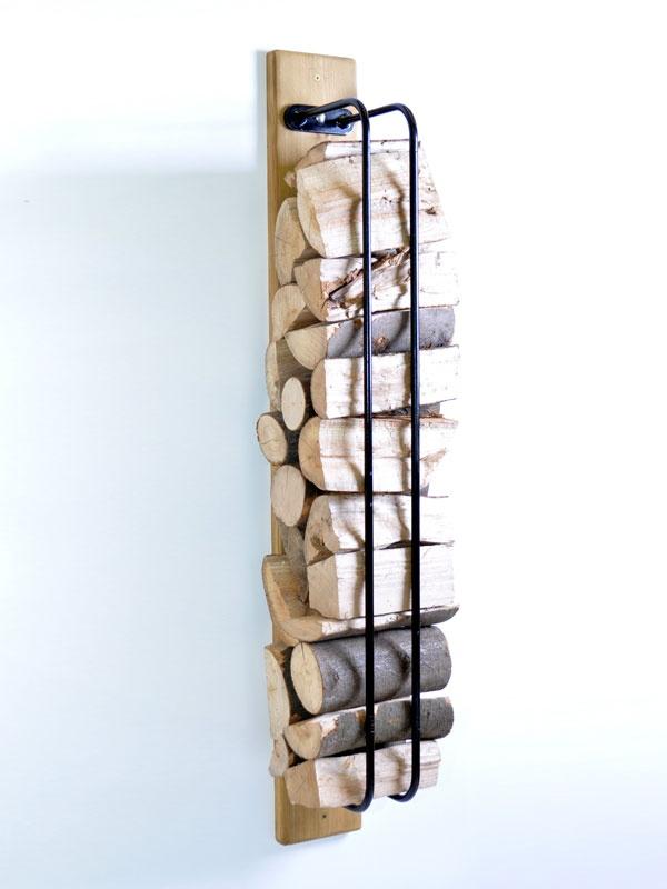 Log Rack Wall Mounted